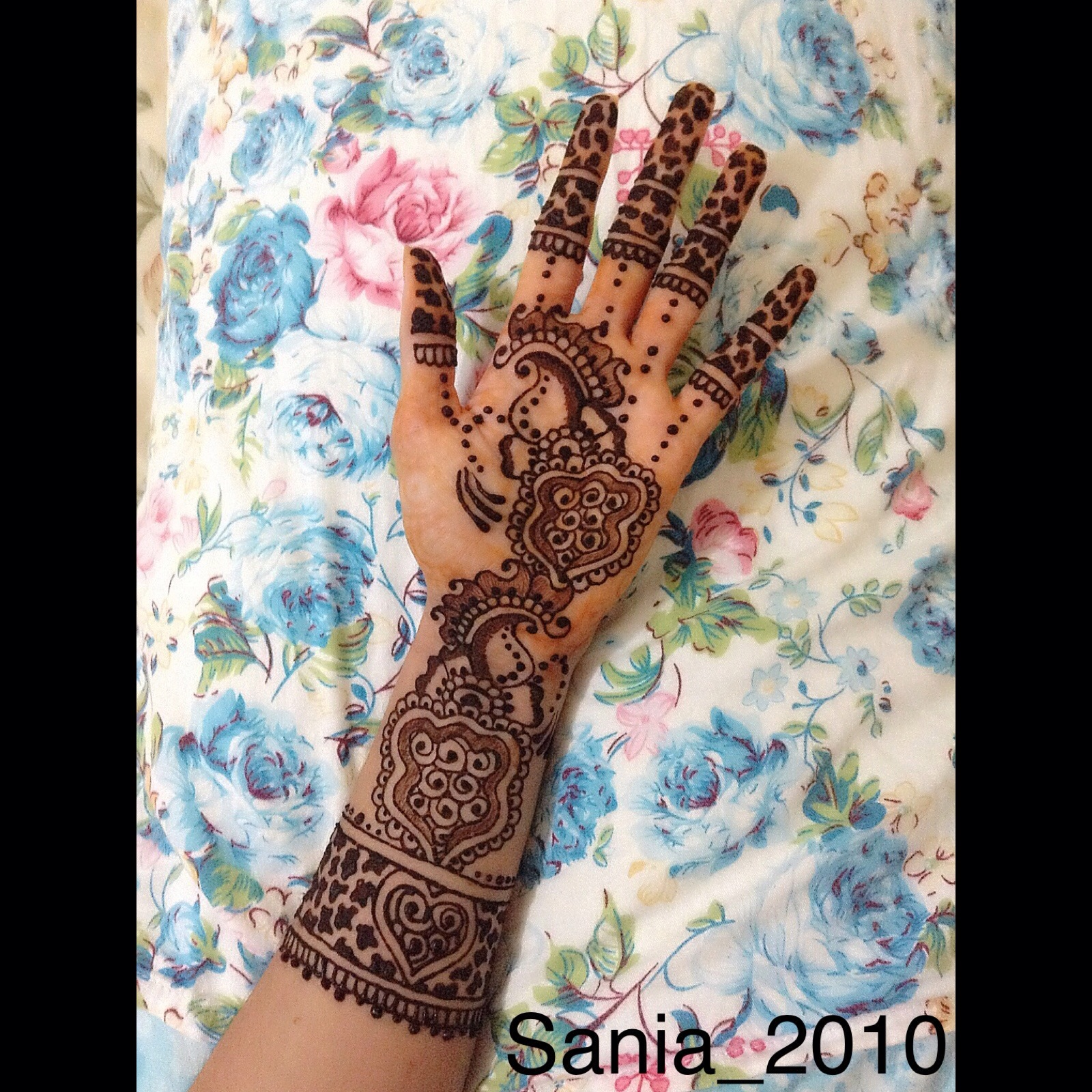 Animal Print Inspired Henna Sania2010 S Blog